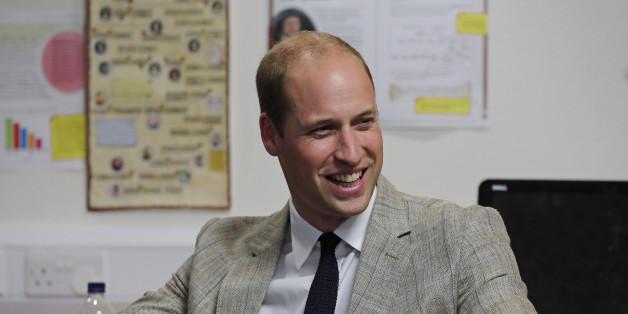 Prinz William sprach in einem Hospiz mit einem Jungen, der seine Mutter verloren hat - und offenbarte dabei, wie sehr er Diana vermisst