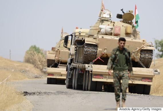 mosul peshmerga forces