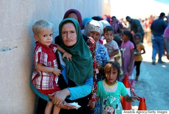 mosul dibege refugee camp