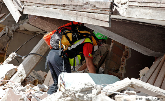 italia earthquake