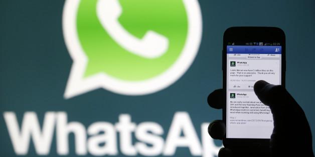 WhatsApp gehört seit 2014 zu Facebook