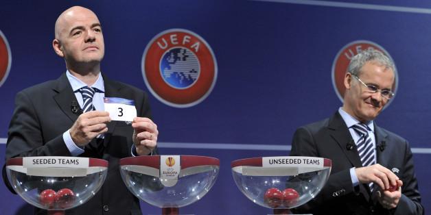 Auslosung der Gruppen für die Europa-League
