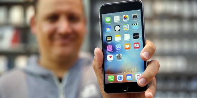 """Das iPhone wird von einem Programm namens """"Pegasus"""" attackiert"""