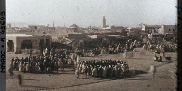 A quoi ressemblait Marrakech il y a 100 ans?