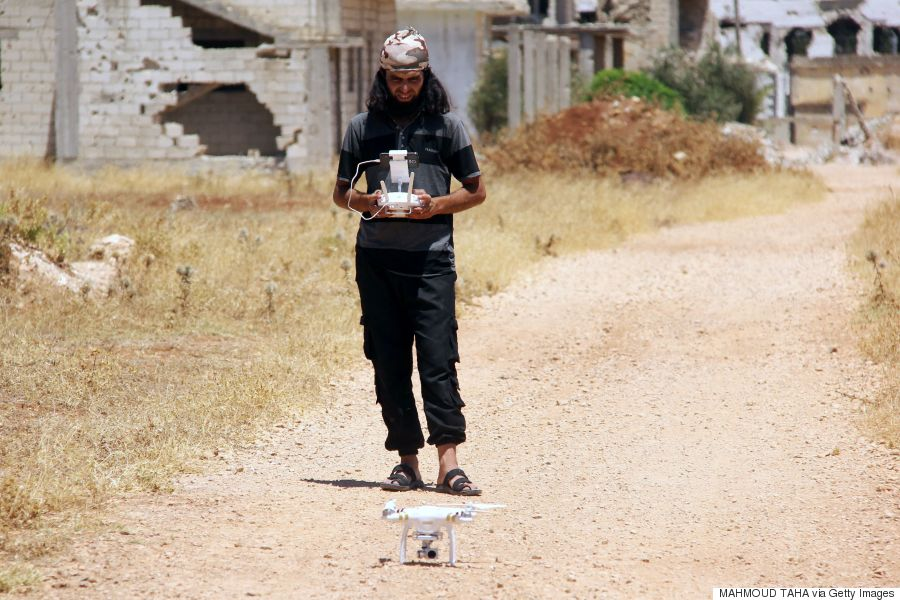 syria drones