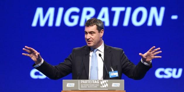 Markus Söder ist mit dem Kurs der CDU nicht zufrieden.