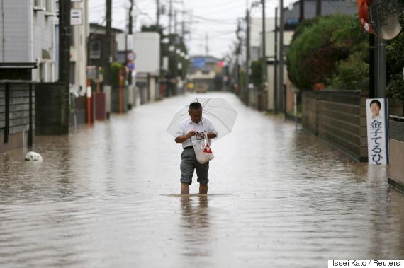 typhoon japan