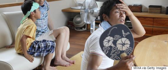 fan summer japan