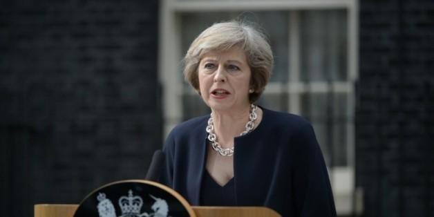 La Première ministre britannique Theresa May, à Londres le 13 juillet 2016
