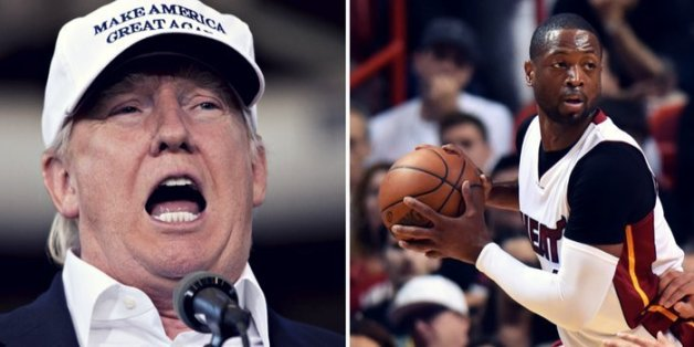 Trump nutzt Tod von Cousine von Dwyane Wade für Wahlkampf.