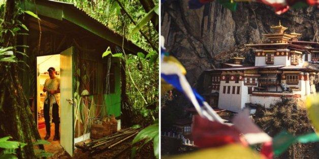 Costa Rica und Bhutan zählen zu den glücklichsten Ländern.