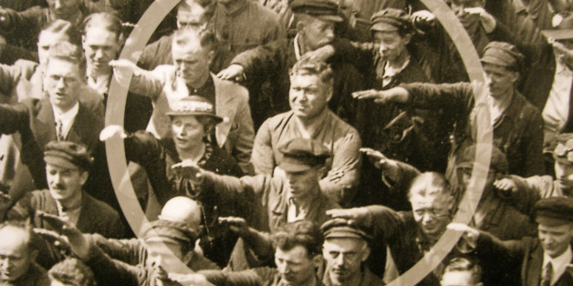 August Landmesser. Private Collection. (Photo by Fine Art Images/Heritage Images/Getty Images)