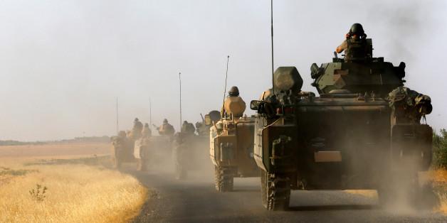 Die militärische Intervention der Türkei in Syrien eskaliert