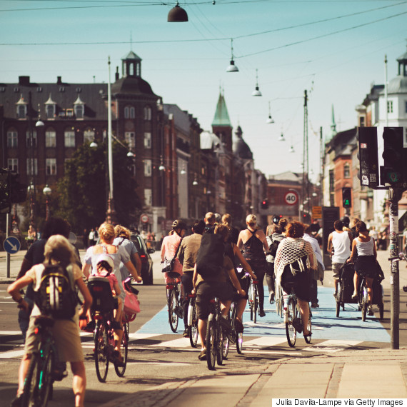 denmark bycicle people