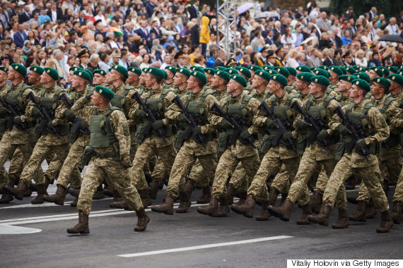 ukraine military uniforms 24 august 2016