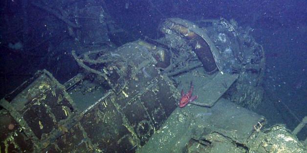 """Im Wrack der """"USS Independence"""" fanden Forscher erstaunlich"""