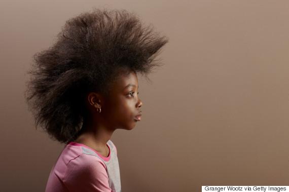 black girl afro hair