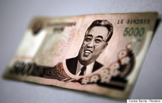 north korean money