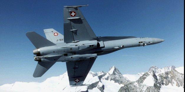 Die Schweizer Luftwaffe vermisst ein Kampfflugzeug vom Typ FA-18