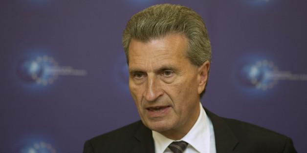 """Oettinger zweifelt an EU-Austritt Großbritanniens: """"Würde nicht auf den Brexit wetten"""""""