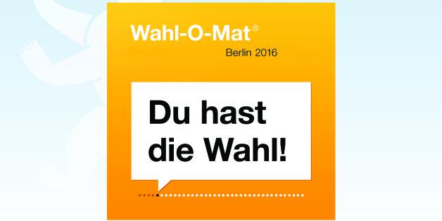 Für die Abgeordnetenhaus-Wahl in Berlin steht ein Wahl-O-Mat bereit