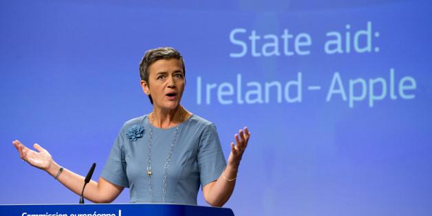 Nach einer EU-Entscheidung muss Irland von Apple bis zu 13 Milliarden Euro Steuervergünstigungen zurückfordern