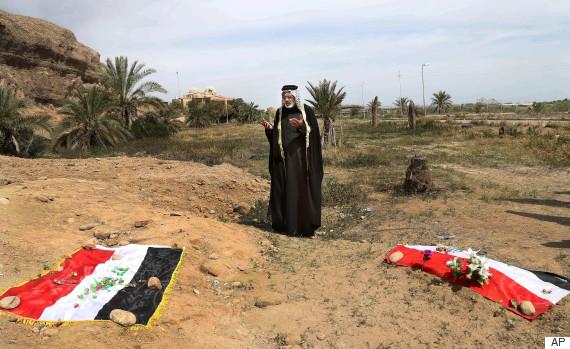islamic state mass graves