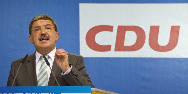 CDU-Spitzenkandidat Lorenz Caffier warnt vor einem Erstarken der AfD