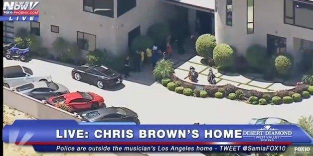 Chris Brown arrêté pour agression à main armée