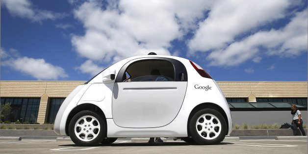 FILE - This May 13, 2015, file photo, shows Google's self-driving car during a demonstration at the Google campus in Mountain View, Calif. The U.S. auto industry's home state of Michigan is preparing for the advent of self-driving cars by pushing legislation to allow for public sales and operation _ a significant expansion beyond an existing law that sanctions autonomous vehicles for testing only. (AP Photo/Tony Avelar, File)