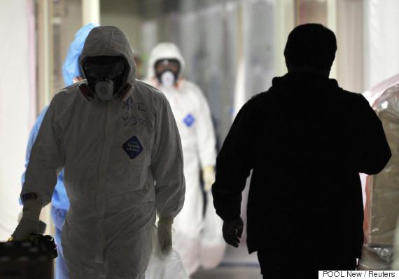 fukushima protective suit