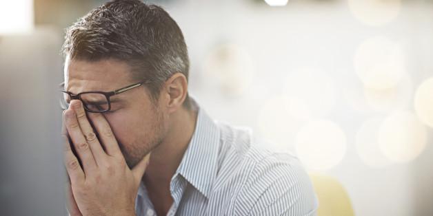Männer verwechseln Stress oft mit Depressionen