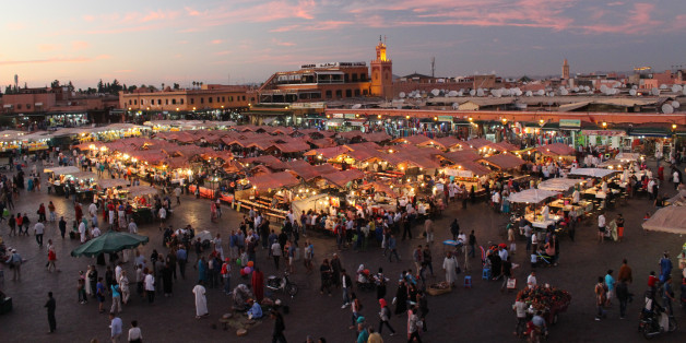 The Jemaa el-Fnaa is one of the best-known squares in Africa and is the centre of city activity and trade. It has been described as a 'world-famous square', 'a metaphorical urban icon, a bridge between the past and the present, the place where (spectacularized) Moroccan tradition encounters modernity.' It has been part of the Unesco World Heritage site since 1985.Historically this square was used for public decapitations by rulers who sought to maintain their power by frightening the public. The