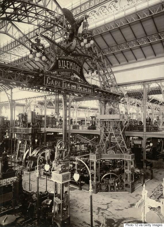 paris worlds fair 1900 machine