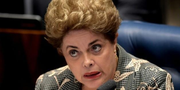 Dilma Rousseff témoigne devant le Congrès le 29, 2016 août 2016 à Brasilia