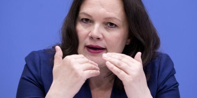 Arbeit- und Sozialministerin Andrea Nahles