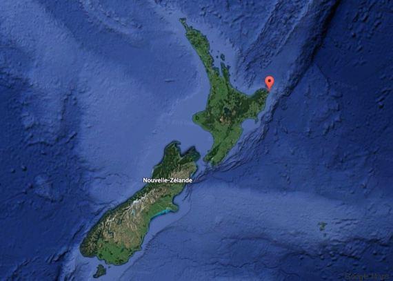 tsunami nouvellezélande