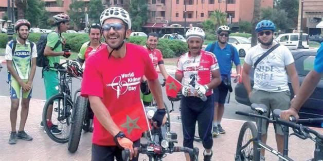 Mohamed Amine Moustanjidi a fait Amsterdam-Marrakech à vélo
