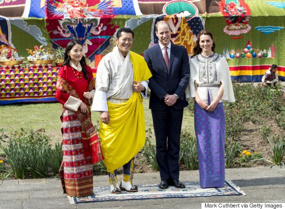 bhutan duke duchess