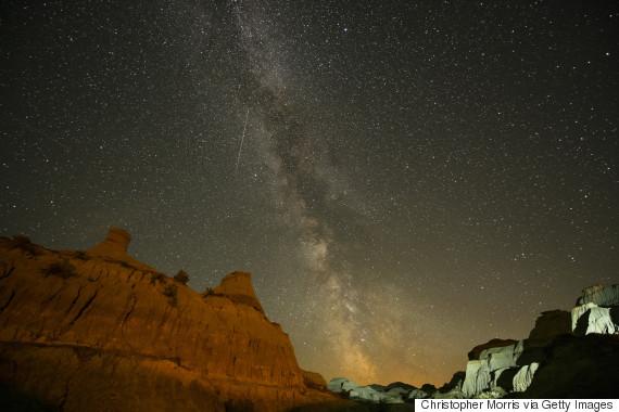 starry sky alberta