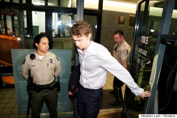 brock turner jail