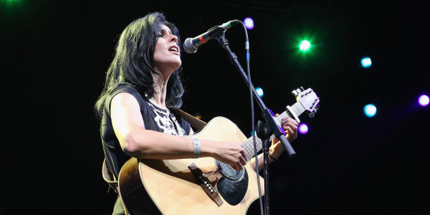 NEW YORK, NY - JULY 07:  Algerian singer Souad Massi performs as part of Celebrate Brooklyn! at the Prospect Park Bandshell on July 7, 2012 in the Brooklyn borough of New York City.  (Photo by Al Pereira/WireImage)