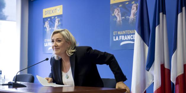 Marine Le Pen möchte Frankreich gerne aus der EU wählen.