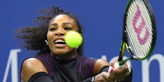 Serena Williams spielt um den Einzug ins Achtelfinale