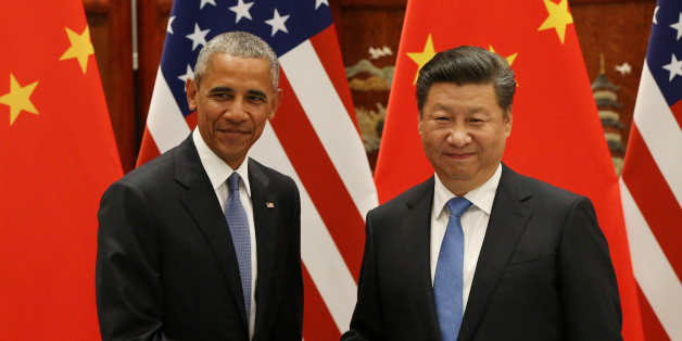 U.S. President Barack Obama and Chinese President Xi Jinping shake hands during their meeting ahead of the G20 Summit at the West Lake State Guest House in Hangzhou, China, September 3, 2016. REUTERS/How Hwee Young/Pool