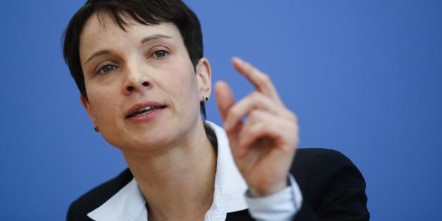 Frauke Petry ist die Vorsitzende der AfD - eine Partei, über die sich nach der Wahl Google-Nutzer informieren