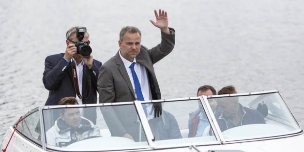 Hat nach der Wahl Oberwasser: Der mecklenburg-vorpommersche AfD-Spitzenkandidat Leif-Erik Holm