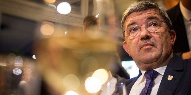 Keine Feierstimmung: Der mecklenburg-vorpommersche CDU-Chef Lorenz Caffier