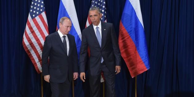 Vladimir Poutine et Barack Obama le 28 septembre 2015.