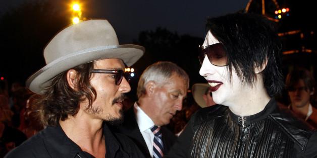 Marilyn Manson verteidigt Johnny Depp